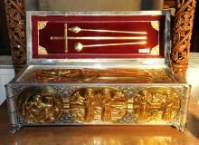 Mănăstirea Stânișoara - Moaștele Sfinților Cuvioși Neofit și Meletie